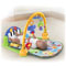 5 activity toys, piano and up to 15 minutes of music!