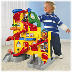 Little People® Wheelies™ Stand 'n Play™ Rampway