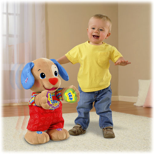 Fisher-Price Laugh & Learn Dance & Play Puppy - Walmart.com