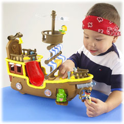 Jake and the Never Land Pirates Jakes Musical Pirate Ship Bucky