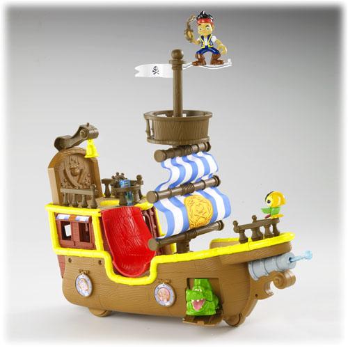 jake und die nimmerlandpiraten  piratenschiff bucky