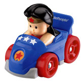 Little People® Wheelies™ DC Super Friends™ Wonder Woman