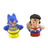 Little People® DC Super Friends™ Wonder Woman & Batgirl Figure Pack