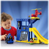 Little People® DC Super Friends™ Batcave