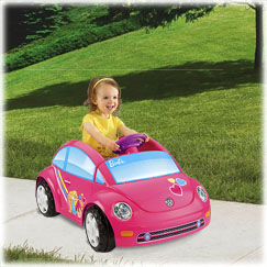 Power Wheels® Barbie™ Volkswagen® New Beetle