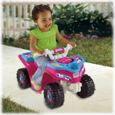 Power Wheels® Barbie Lil' Quad™
