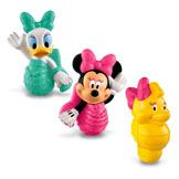 Mermaid Minnie & Friends Bath Squirters