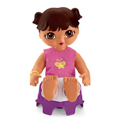 Ready for Potty™ Baby Dora