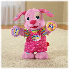 Laugh & Learn™ Dance & Play Puppy (Pink)