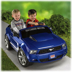 Power Wheels® Ford Mustang Boss 302 (Blue)