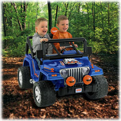 Power Wheels® HOT WHEELS™ Jeep ® Wrangler