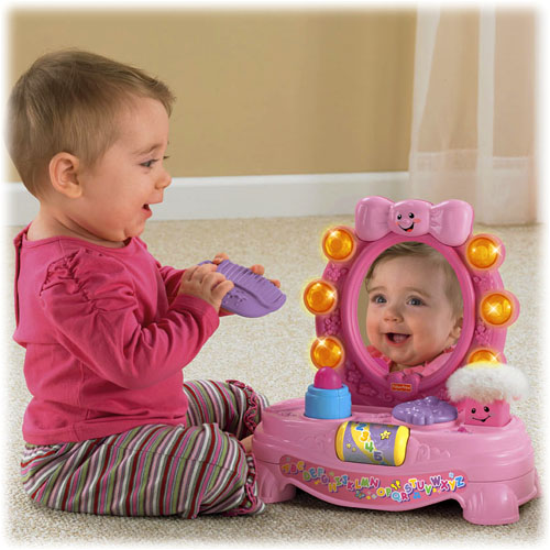 Fisher Price Laugh Learn Magical Musical Mirror - Walmart.com