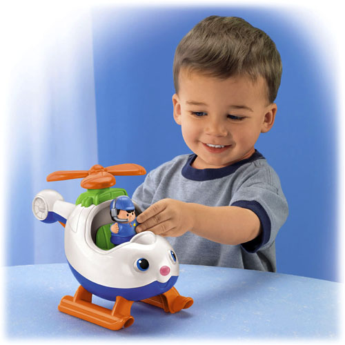 Toddler Toys People : Little people spin n fly helicopter™ shop