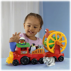 Little People® Zoo Talkers™ Animal Sounds Zoo Train