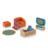 Dora Playtime Together Living Room Furniture