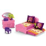 Playtime Together Dora's Bedroom Furniture