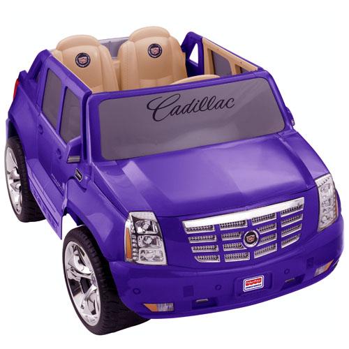Cadillac escalade de power wheels - Prise escalade enfant ...