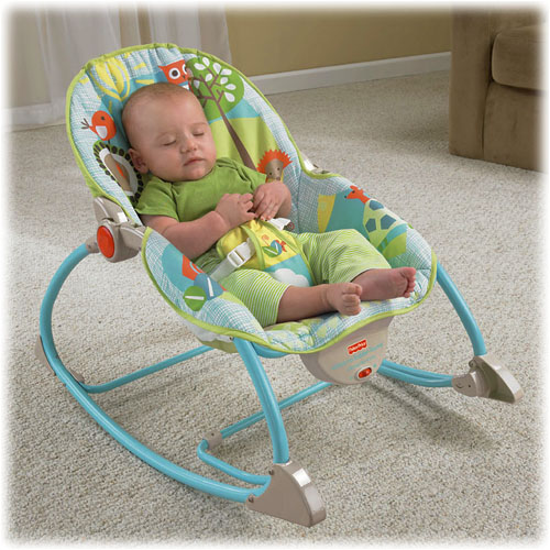 Details about FISHER PRICE BOUNCER INFANT TO TODDLER ROCKER Baby Chair ...