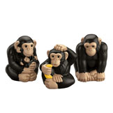 Little People® Zoo Talkers™ Chimpanzee Family