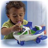 Little People® Disney•Pixar Toy Story Buzz Lightyear & Space Ship