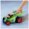 Press down on RC's spoiler to hear engine sounds & watch it race!