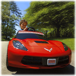 Power Wheels® Corvette®