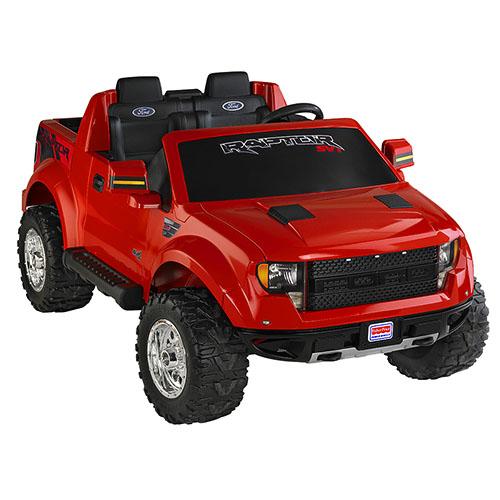 Power Wheels Truck : Ford raptor power wheels ototrends