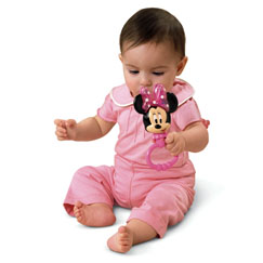 Disney Baby MINNIE MOUSE Rattle