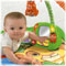 Comfy mat with linking toys & mirror encourages tummy-time play.