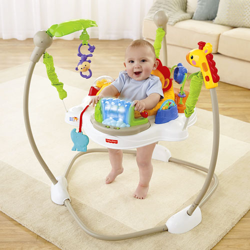 Jumperoo approx retail price 100 00 product x7324 75513 fisher price - Seat Spins 360 176 So Baby Can Discover Toys All Around