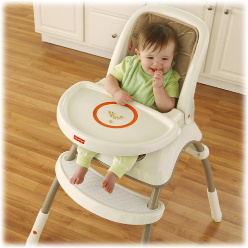 Chaise haute volutive for Chaise haute fisher price