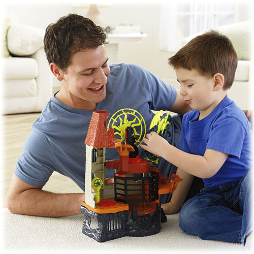 imaginext wizard tower instructions