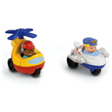 Little People® Wheelies™ Jet & Helicopter