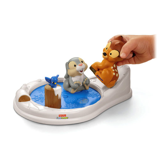 fisher price bambi and thumper meet