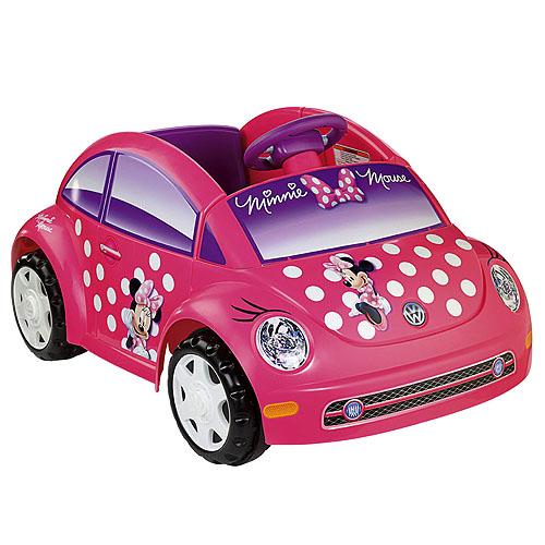 power wheels disney minnie mouse volkswagen  beetle shop power wheels ride  cars