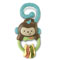 Linkable monkey tail for on-the-go fun.