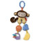 Banana teether & rattle beads.