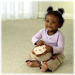 My Little SnugaMonkey Chime Ball Monkey