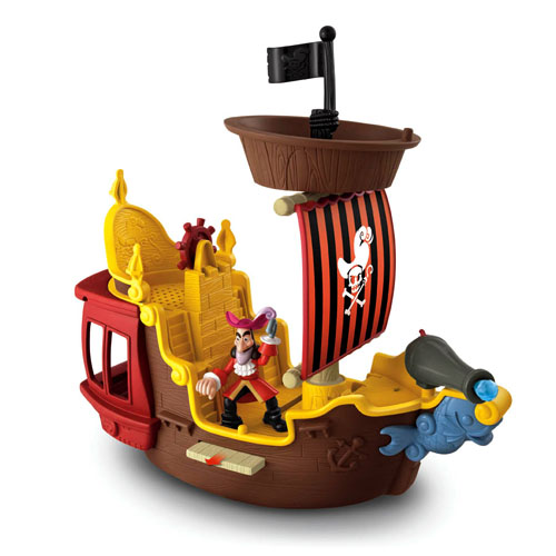 Fisher Price Toddler Bed Jake and the Never Land Pirates Hook's Jolly Roger