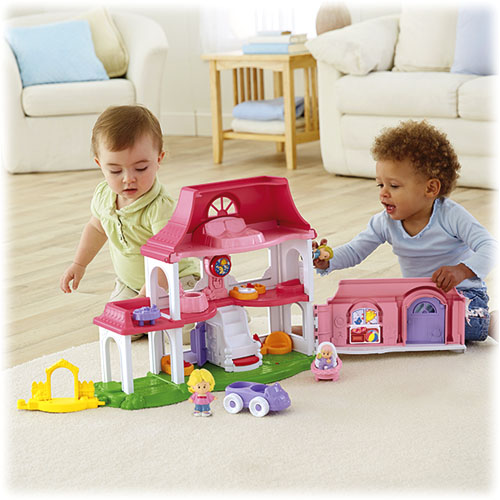 Toddler Toys People : Little people happy sounds home shop