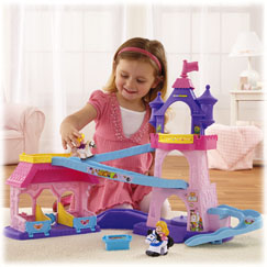 Little People® Disney Princess Klip Klop Stable