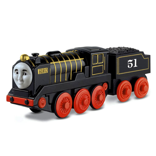 thomas friends wooden railway battery operated hiro. Black Bedroom Furniture Sets. Home Design Ideas