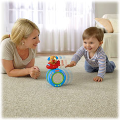 Laugh & Learn™ Puppy's Crawl-Along Musical Ball™