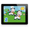FREE Fisher-Price learning apps for the iPad—just right for baby! Let's Count Animals™ shown here.