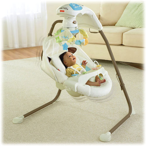 fisher price baby swing instructions