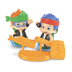 Bubble Guppies Rock & Roll Gil and Nonny