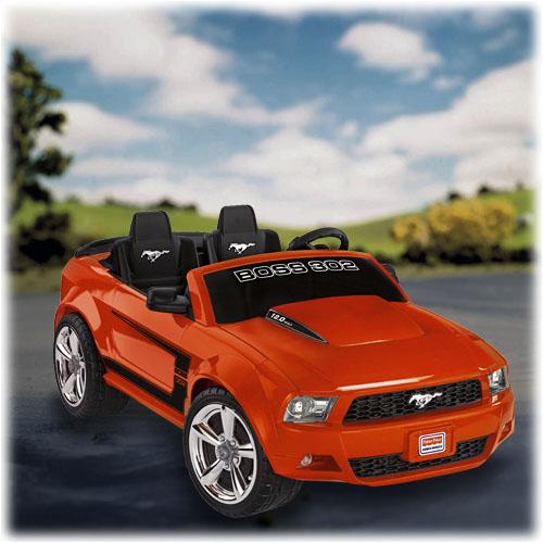 Power Wheels Mustang : Power wheels ford mustang boss orange shop