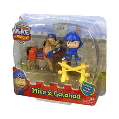 Mike the Knight Mike & Galahad Figure Pack