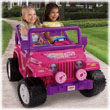 Power Wheels® Barbie™ Jammin' Jeep® Wrangler (Pink)