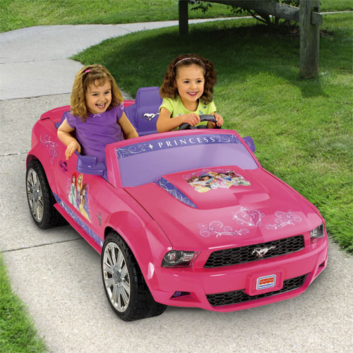 Power Wheels 174 Disney Princess Ford Mustang Shop Power